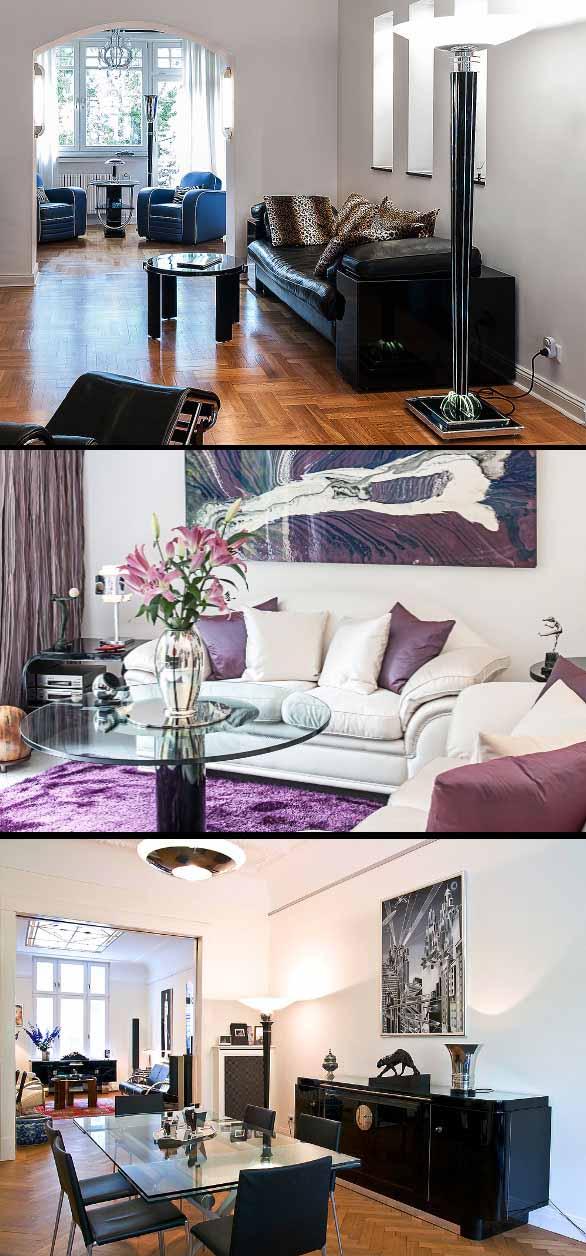 Einrichtung Konzept Kunden Beispiel Elegant Ausgeglichen Art Deco Avantgarde Bauhaus Streamline Einrichtungsfee Petra Josephs Gestaltung Interieur Interior