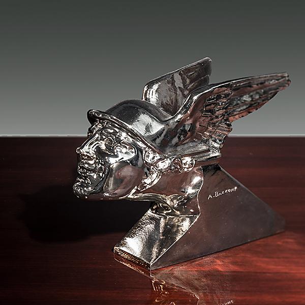 """Bronzeskulptur """"Hermes"""""""