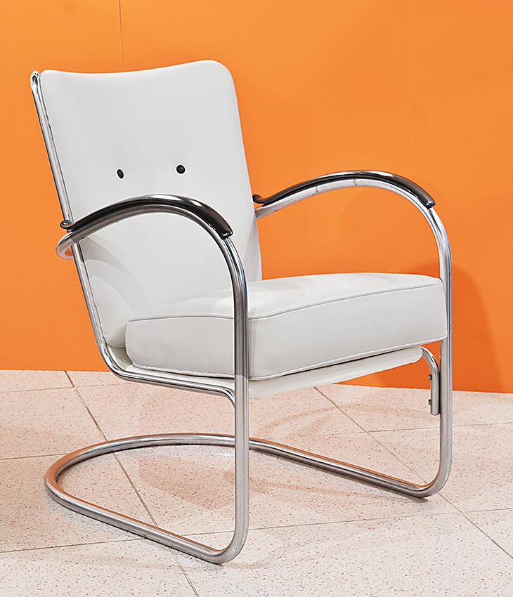 Stahlrohr Sessel Gispen