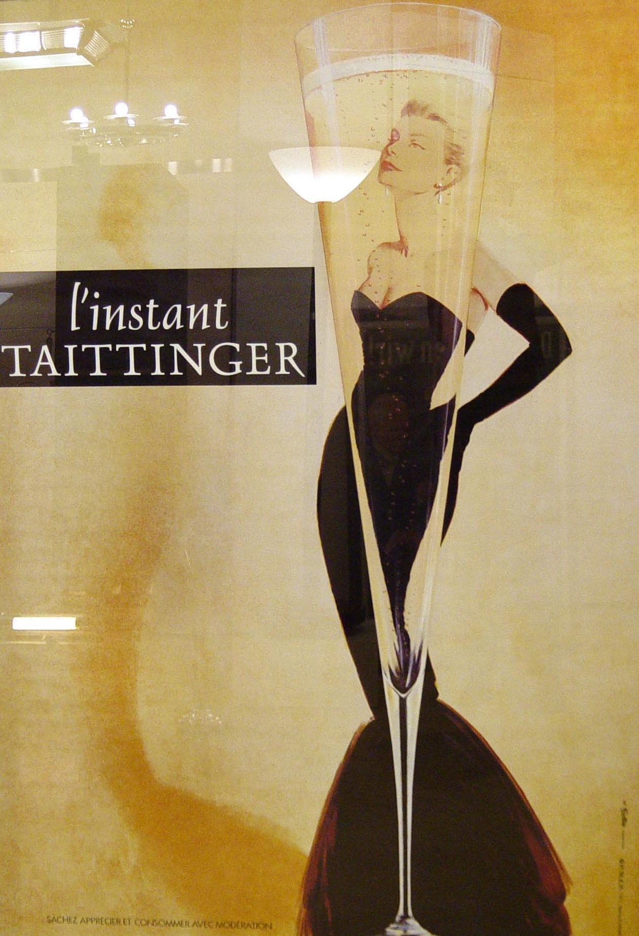 Plakat «L'instant Taittinger »