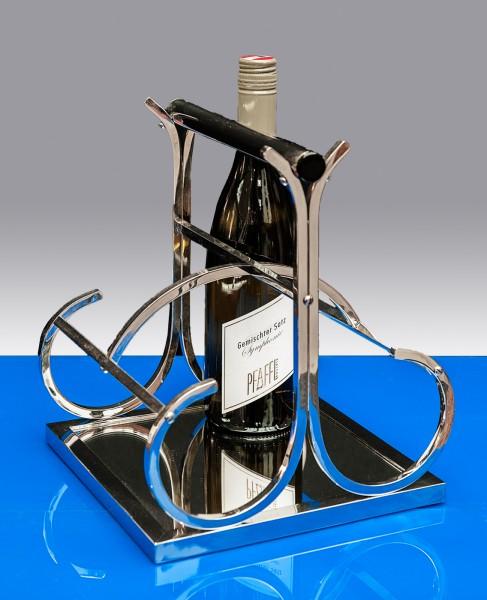 Wunderbarer Flaschenträger für vier Flaschen