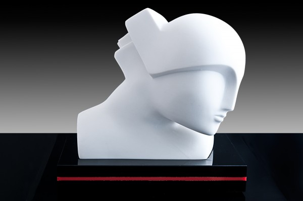Skulptur Futura Hommage an Boris Lovet-Lorski