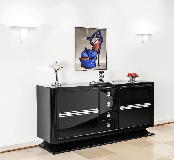"Art Deco Sideboard ""Streamline"""