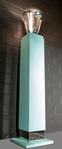 Säulen Leucht Objekt