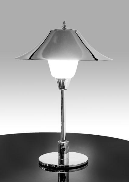 Art Deco Tischlampe Champignon