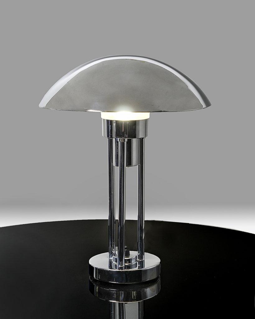 Art Deco Tischlampe Pilz Claude