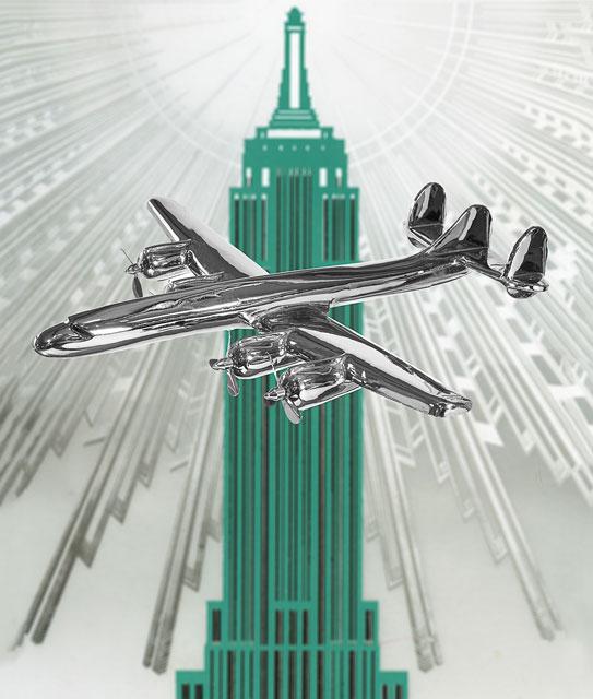 Flugzeug-Modell-Superconstellation