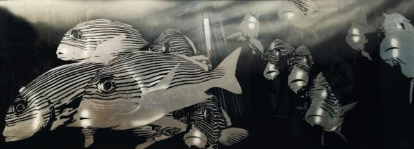 """Gemälde Emil Schult """"Fische"""""""